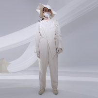 Jumpsuit / pants 96% and above trousers cotton High waist Original design Angel white M L XL S routine Winter 2020 Overalls 20D074K edfv