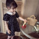 Outdoor casual suit Tagkita / she and others children 51-100 yuan seventy-five point six zero 100,110,120,130,140,150 Black floral skirt , Collection Plus purchase priority delivery