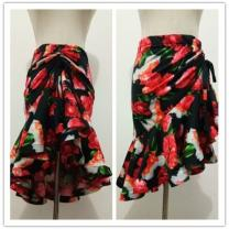 Latin bottom female S ~~,M `| Black only skirt price ^%, leopard only skirt price_ ^, small high collar top%,, leopard pattern water drop top {, flower only skirt price% $, snake only skirt price% $, red drawstring-| Irregular skirt Other Rumba, Chacha spandex