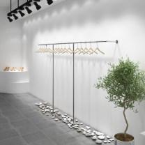 Clothing display rack clothing Metal D-20-0906-01 Dadong Official standard
