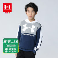 Sweater / sweater Under Armour Red Navy neutral 130cm 140cm 150cm 160cm 170cm spring and autumn No detachable cap cotton Brand logo Cotton 71% polyester 29% Spring 2021