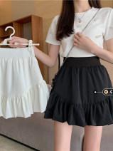 skirt Summer 2021 M, L Black, white Other / other