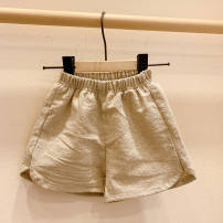 Quick drying pants children forty-four point eight zero Under 50 yuan Tagkita / she and others Solid color khaki, check khaki, wave point, stripe, blue, style deposit 73,80,90,100 Pant