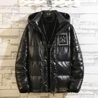 Down Jackets Black, silver, blue, black, white, orange, green Freedom and glory White duck down M. L, XL, 2XL, 3XL, women's average size is 80 to 160 Jin Youth fashion Other leisure have cash less than that is registered in the accounts routine 95% Wear out Hood Wear out Large size tide Solid color