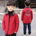 Cotton padded jacket male nothing other Other / other Red (pre-sale 7 days), black (pre-sale 7 days) 110cm,120cm,130cm,140cm,150cm,160cm thickening Single breasted leisure time There are models in the real shooting Solid color other Class C Lapel Polyester 100% MY8061-2 Polyester 100%