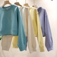 Sweater / sweater Spring 2021 Lake blue, light purple, light yellow, beige Average size 80-120 Jin! 71% (inclusive) - 80% (inclusive) Cotton liner