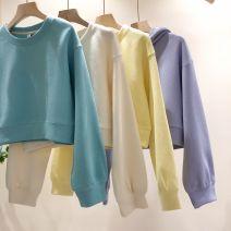 Sweater / sweater Spring 2021 Lake blue, light purple, light yellow, beige Average size 80-120 Jin! 71% (inclusive) - 80% (inclusive) Cotton liner