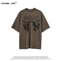 T-shirt L Coffee color