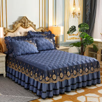 Bed skirt Others Royal Blue , Coffee color , turmeric , Red bean paste , Pink , Beige , Jade color , bright red Other / other Solid color Qualified products