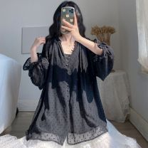 Yoga clothes Big XL, big L, big XXXL, big XXXXL, big XXL black male Other / other other currency Autumn and winter No chest pads Other / other other Cardigan Long sleeves Jumpsuit