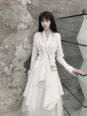 Cosplay women's wear jacket goods in stock Over 14 years old White, black, light gray, army green comic S,M,L
