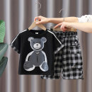 suit Other / other Black, white, grey 90cm,100cm,110cm,120cm,130cm,140cm male spring and autumn Korean version Short sleeve + pants 2 pieces routine No model Socket nothing other other children Expression of love other Other 100% 7, 8, 3, 6, 18 months, 2, 5, 4, 9, 12 months