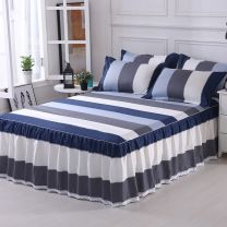 Bed skirt 120x200, 150x200, 180x200, 180x220, 200x220 cotton At the foot of Fuji mountain, love nest, blue rhyme Pavilion blue, splendid life, naked marriage era, capriccio, youth like singing, time like flowing water, legendary grey, splendid red, leisure time, Aurora grey, fashion grey FSSX