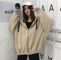 Sweater / sweater Summer 2015 Khaki, black M,L,XL,2XL Long sleeves Socket singleton  thickening easy street other letter 18-24 years old 91% (inclusive) - 95% (inclusive) Other / other Taoy-1078 printing polyester fiber