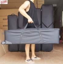 Travel bag oxford nothing Black 80cm 80cm * 36cm * 26cm, black 1.1m 105cm * 36cm * 26cm, black 1.35M 130cm * 36cm * 28cm, black 1.5m 143cm * 38cm * 28cm, black 1.58M 153cm * 38cm * 28cm, black 1.7m 165cm * 38cm * 28, 1.1m trolley box 105cm * 36cm * 26cm large no travel Strapless Bag type Hard handle