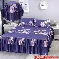 Bed skirt Three sets of 180x200cm, three sets of 180x200cm, three sets of 200x200cm, three sets of 200x200cm polyester fiber Other / other Plants and flowers Qualified products P72473