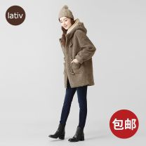 short coat Winter 2020 S 155/80A,M 160/84A,L 160/88A Deep khaki, beige Other / other 96% and above polyester fiber