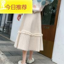 skirt Autumn 2020 Average size Grey, black, blue, white apricot Mid length dress Versatile High waist Pleated skirt Solid color Type A 25-29 years old YCL95610 More than 95% corduroy other Splicing 401g / m ^ 2 (inclusive) - 500g / m ^ 2 (inclusive)