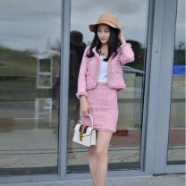 Work uniform / school uniform / business uniform customization Sky blue, pink S,M,L,XL,XS Other / other polyester fiber