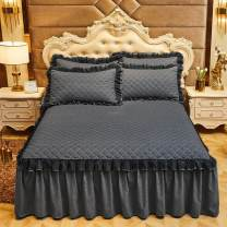 Bed skirt Others Beautiful -- blue, beautiful -- yellow, beautiful -- red, beautiful -- green, beautiful -- gray, beautiful -- camel, beautiful -- jade, beautiful -- purple Yunwu square Others