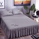 Bed cover 120x200cm single bed skirt, 180x220cm single bed skirt, 180x200cm single bed skirt, 200x220cm single bed skirt, customized please contact customer service, 150x200cm single bed skirt Solid color Other / other Others First Grade Y3235387309231026688098334392254