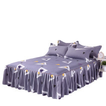 Bed skirt Two 120x200cm pillowcases, two 150x200cm pillowcases, two 180x200cm pillowcases, two 180x220cm pillowcases and two 200x220cm pillowcases cotton Other / other Plants and flowers Qualified products