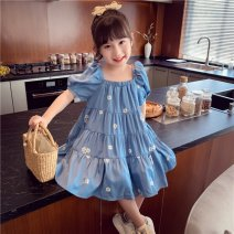 Outdoor casual clothes Tagkita / she and others children sixty-nine point eight zero blue 51-100 yuan 90,100,110,120,130,140 other Short sleeve summer