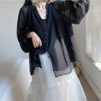 T-shirt black Other / other Large XL, large XXL, large XXL, large XXXXL, large L female Long sleeves commute other Solid color 3 months