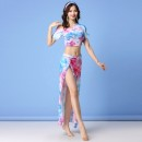 Belly Dance suit (performance dress) Other / other Black for bra, red for bra, blue for bra, light blue for bra, pink for bra, tie dyed blue for bra, tie dyed green for bra, black skirt for bra, red skirt for bra, blue skirt for bra, light blue skirt for bra, pink skirt for bra M,L,XL female HY1205