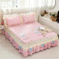 Bedding Set / four piece set / multi piece set cotton Embroidery, quilting Others See details Other / other Others Others 40 Bed skirt