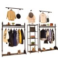 Clothing display rack clothing Metal A-iron plate Other / other Official standard