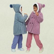 Plain coat Friendship Museum neutral 100cm,110cm,120cm,130cm,150cm Purple hair, blue hair, rice hair No detachable cap other