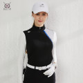Golf apparel White, black, white top + red pants, black top + black skirt S,M,L,XL female BLK TEE Long sleeve T-shirt BG19055