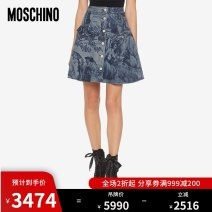 skirt Autumn 2020 038 040 042 044 Blue 1343 Short skirt Natural waist J0124542220A More than 95% MOSCHINO / MOSCHINO cotton Cotton 98% polyurethane elastic fiber (spandex) 2%