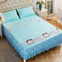 Bed skirt 150cmx200cm,180cmx200cm,120cmx200cm,200cmx220cm Others Koala, outing, pineapple, flaming feather, Firebird, banana leaf, blue mood, green shade, white bear, cute elephant, fun spirit, [Tencel fabric, available in four seasons] Other / other Plants and flowers Qualified products JZD-TSLX2