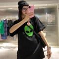 Women's large Spring 2021 black Large L, large XL, large XXL, s, M T-shirt singleton  commute Socket Korean version SMQ30359 Damoda / yaotaiping bird 18-24 years old