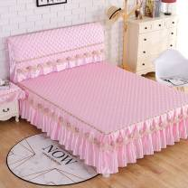 Bed skirt Acetate fiber Flower Fairy pink, flower fairy gold, flower fairy purple, flower fairy beige, night pearl beige, flower fairy gray Other / other Solid color H19232