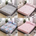Bed cover Plants and flowers Other / other polyester fiber Qualified products FS-CL