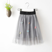 skirt 100cm, 120cm, 140cm, 110cm, 90cm, 130cm, 74cm Light yellow, dark gray, black and pink Other / other female Other 100% No season skirt Pleats