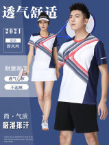 Badminton wear For both men and women LJ Football suit AB1837 A1837 white, a1837 blue, b1837 white, b1837 blue, a1837 white, a1837 blue, b1837 white, b1837 white, b1837 blue, b1837 blue, b1837 blue, women need to match shorts, contact customer service remarks M. L, XL, XXL, XXXL, larger