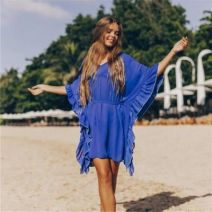 Beach coat navy blue Average size Other / other DN0224
