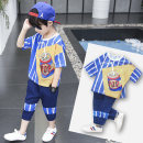 suit Chao Li ninghan Blue, red, white, 1 blue 100cm,110cm,120cm,130cm,140cm,150cm,160cm,170cm male summer motion Short sleeve + pants 2 pieces Thin money There are models in the real shooting Socket nothing Cartoon animation other children Giving presents at school Class B Other 100% Chinese Mainland