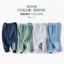 trousers Jelodee / Gerard male 90cm 100cm 110cm 120cm 130cm spring and autumn trousers motion No model Sports pants Leather belt middle-waisted Pure cotton (100% content) Open crotch Cotton 100% They were 2 years old, 3 years old, 4 years old, 5 years old, 6 years old, 7 years old and 8 years old