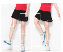Sports skirt 668* Other / other female M.,L.,XL.,2XL.,3XL.,4XL.,5XL. Summer 2020 Tennis Moisture absorption and perspiration, anti ultraviolet, quick drying, ultra light, breathable Photolithography Tennis Series