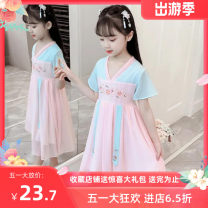 Hanfu 7, 8, 3, 6, 2, 13, 11, 5, 4, 10, 9, 12 other Chinese style female Pink, blue other 100,110,120,130,140,150,160