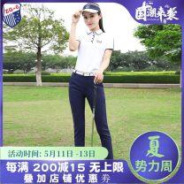 Golf apparel White top, Baolan Capris, top + Capris S,M,L,XL,XXL female ZG-6 t-shirt  Y9901 K9901