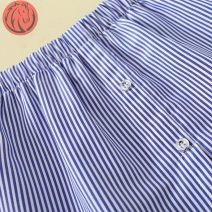 skirt Autumn 2020 One size fits all , Large XL P25 - Blue stripe Short skirt J64270 Other / other