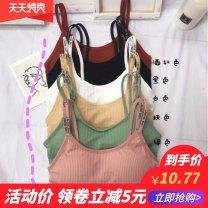 Bras One piece white, one piece black, one piece green, one piece khaki, one piece brick red Average size [recommended 80kg-140kg] T-type Fresh time fixed shoulder strap other detachable shoulder strap Rear three row buckle Mild steel ring other Other / other Developmental students (7-18 years old)