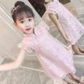 Dress female The best is the best Other 100% summer princess Skirt / vest Solid color cotton A-line skirt Class A 7 years old, 3 years old, 6 years old, 18 months old, 2 years old, 5 years old, 4 years old