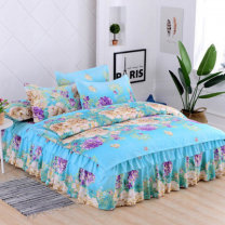 Bedding Set / four piece set / multi piece set Others Embroidery Puzzle 200x95 Other / other Others 4 pieces 100 Bed skirt Sanding